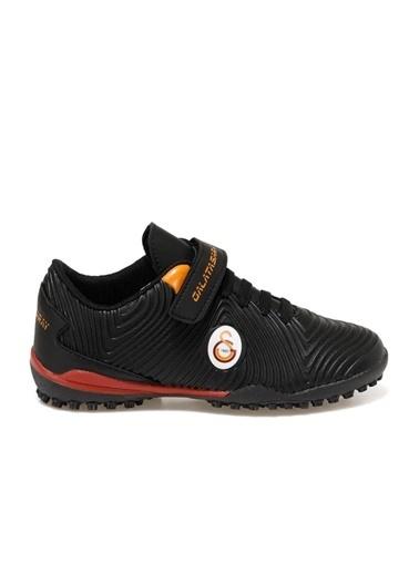 Kinetix Agron J Turf Gs Lisanslı Erkek Çocuk Futbol Ayakkabı Siyah